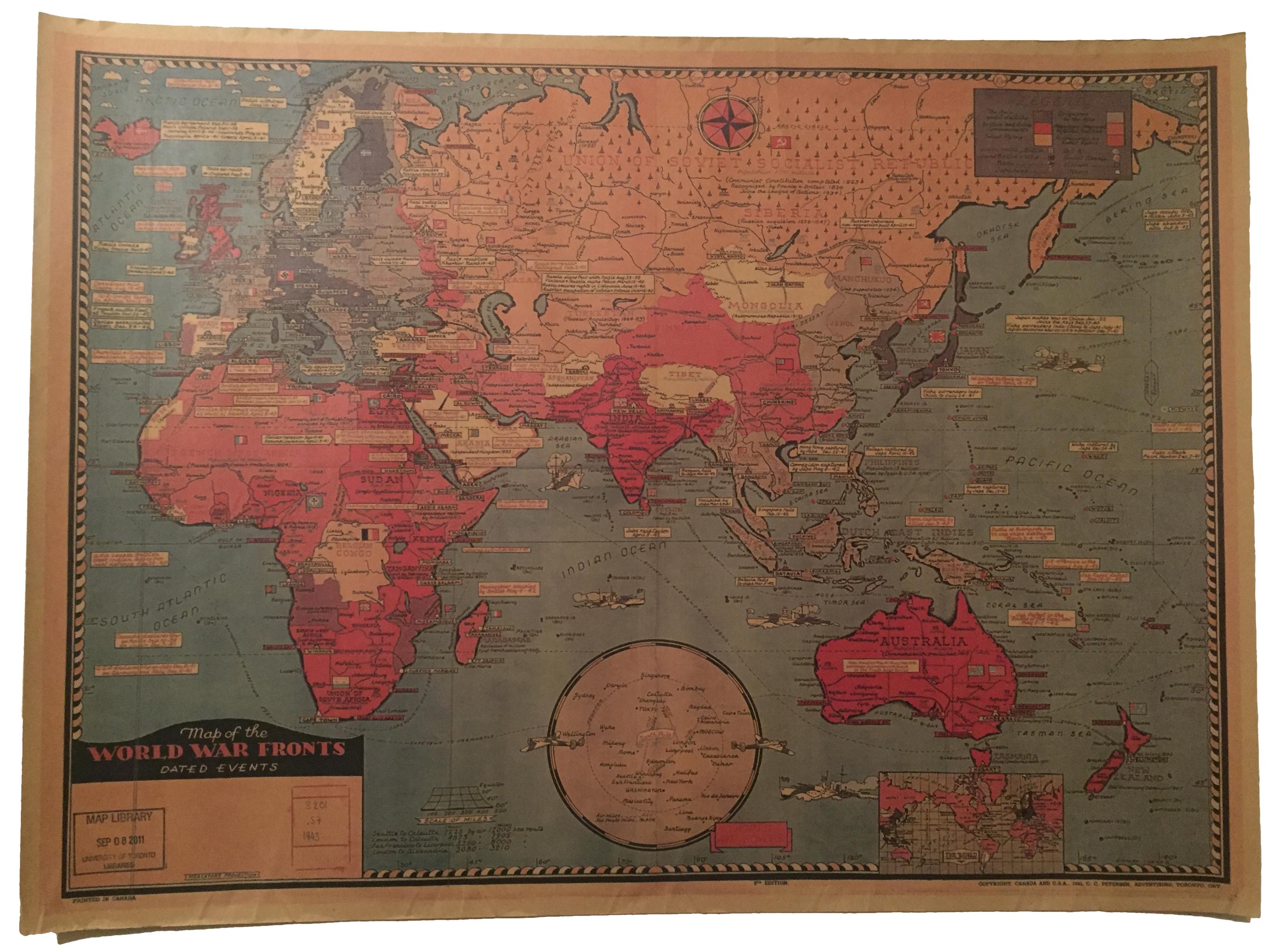 salg av kart Kart over andre verdenskrig – Kartmesteren.no salg av kart